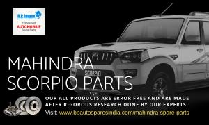 Mahindra Scorpio Parts